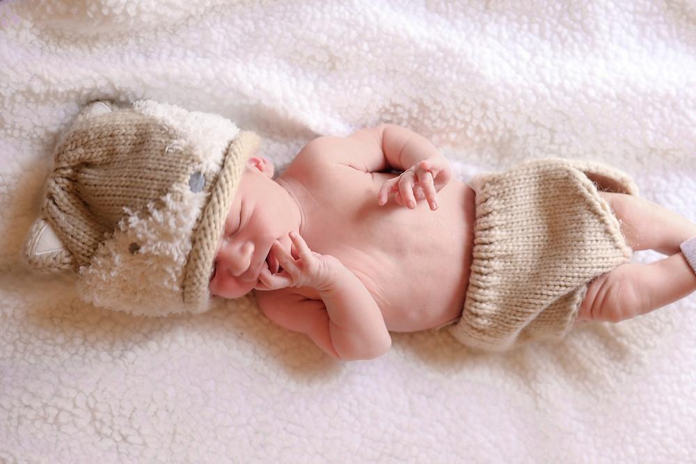 Fresno photographer Ashley Norton does a newborn session.