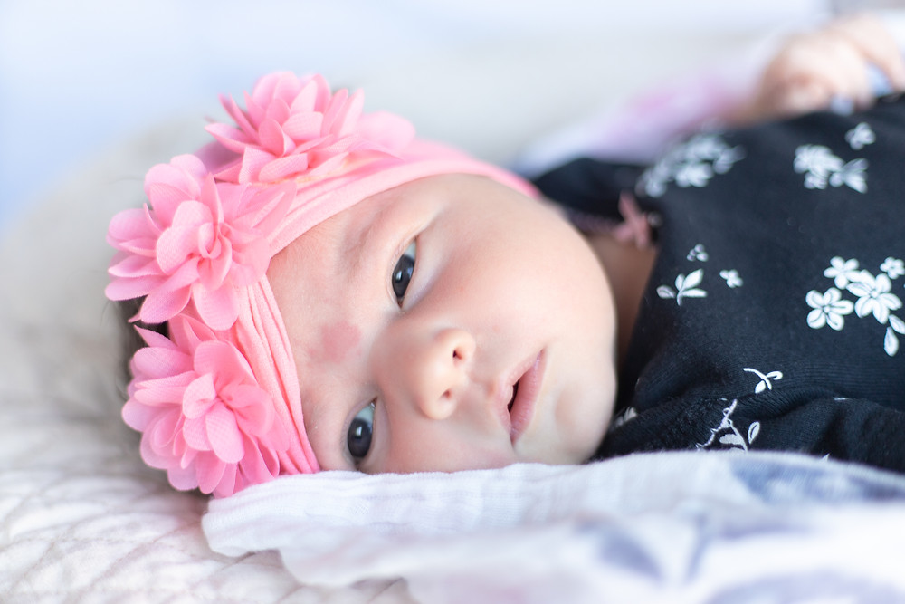 Portrait session by California newborn photographer Ashley Norton.