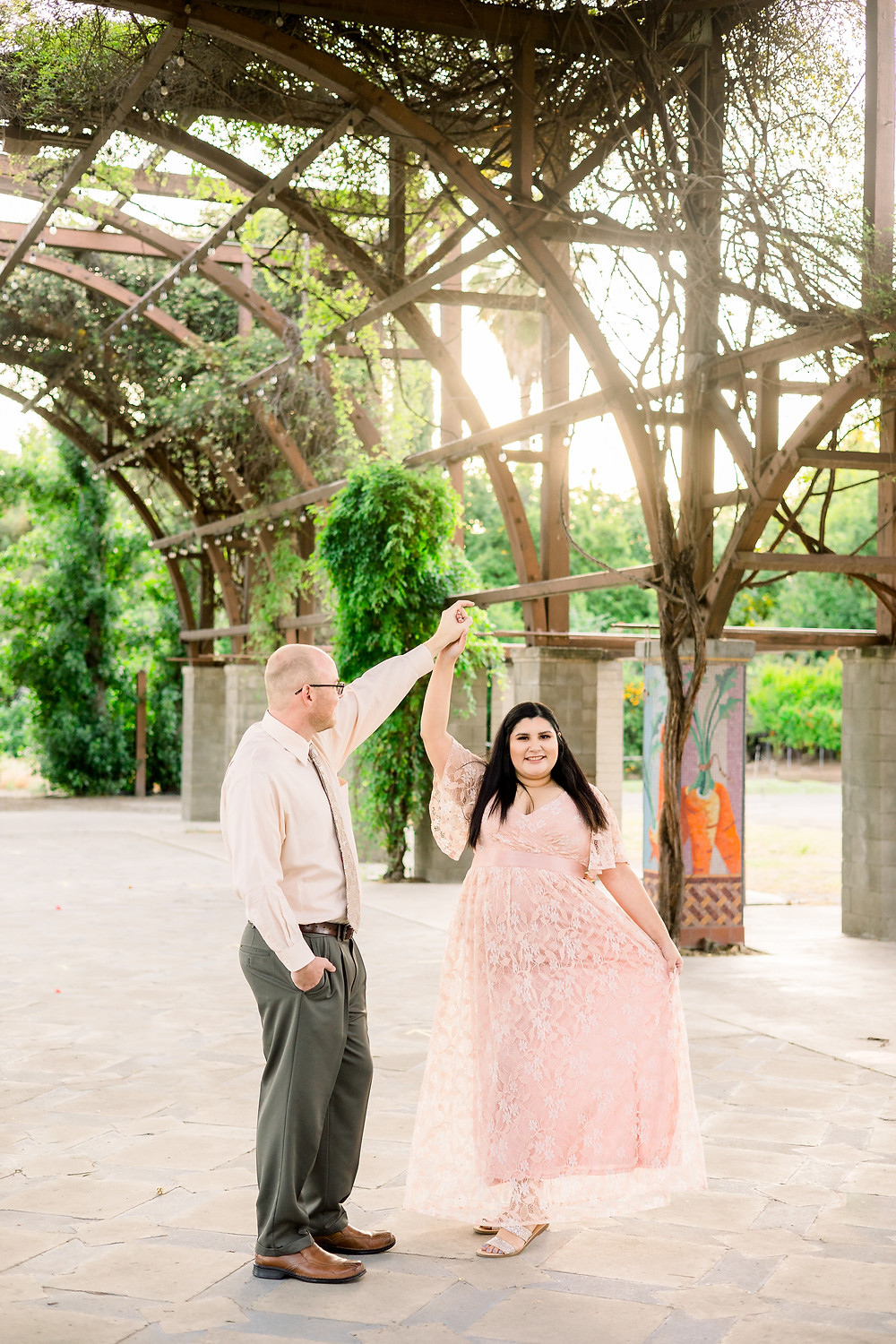 Engagement session in Fresno, CA by Ashley Norton Photography