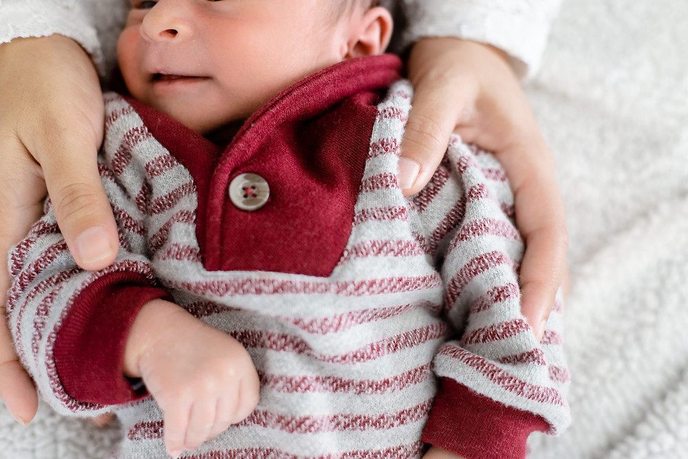 A session by Fresno newborn portrait photographer Ashley Norton.