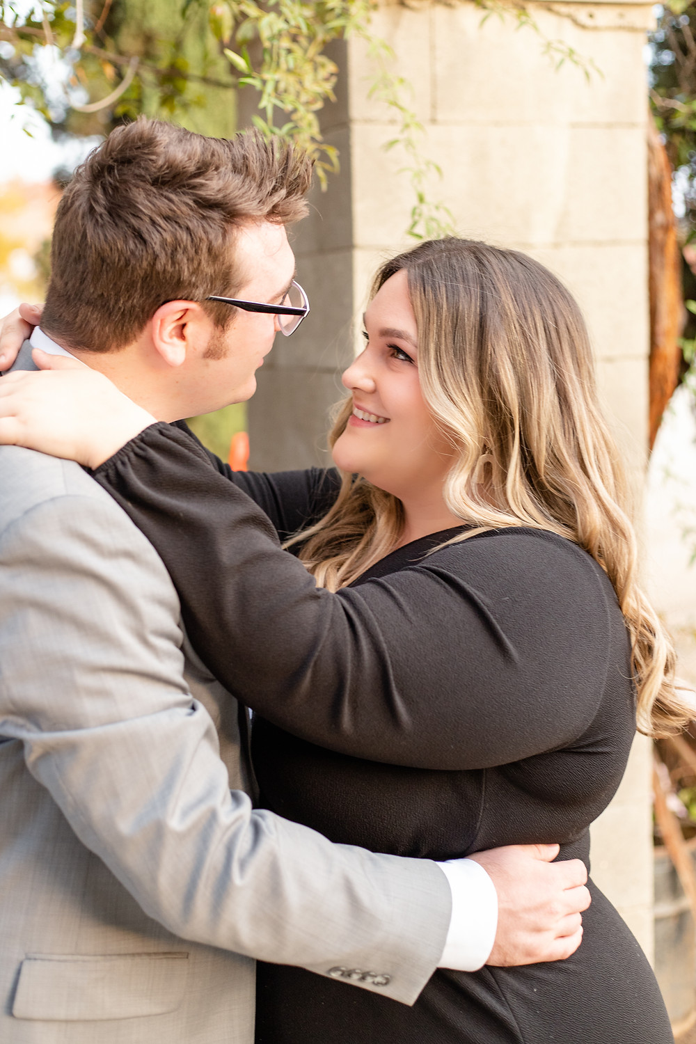 A couples session in Fresno, California by Ashley Norton Photography.