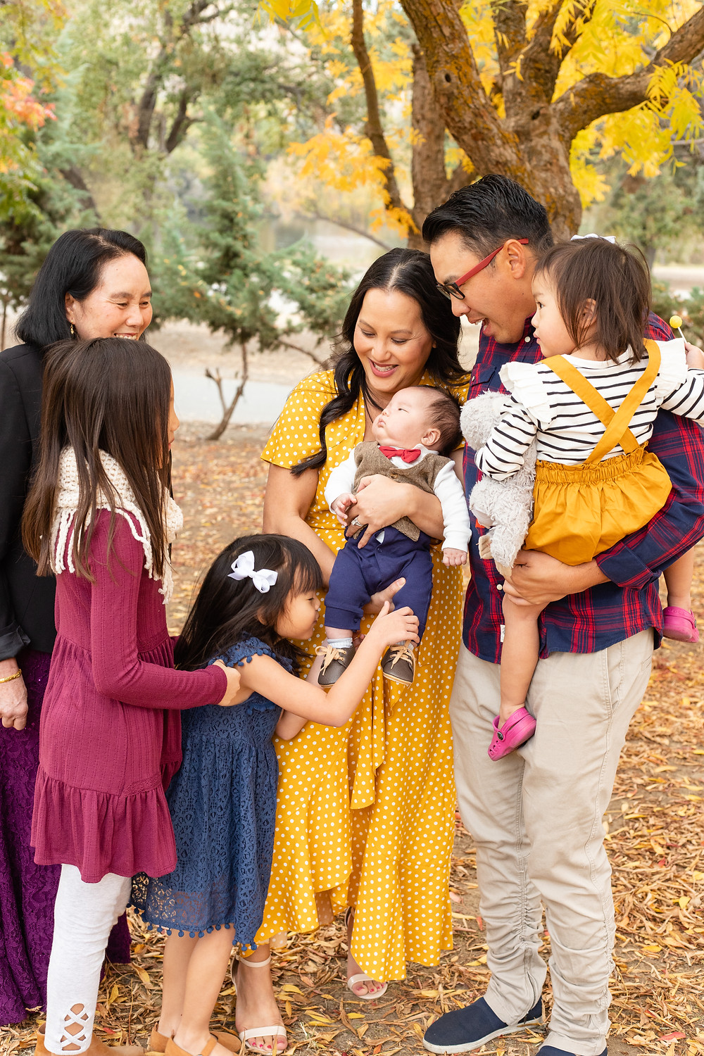 A family lifestyle session by Ashley Norton Photography in Fresno, CA.