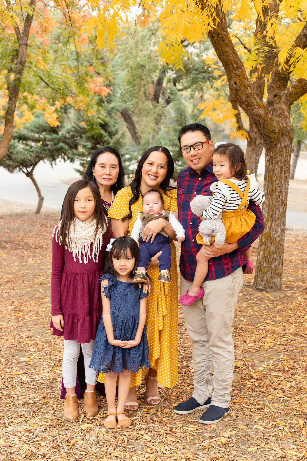 A family portrait session by Ashley Norton Photography in Fresno, CA.