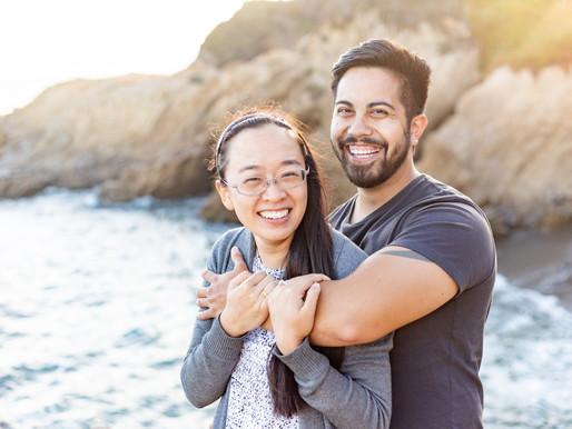 Gabrielle & Jordan's Surprise Proposal | San Simeon, CA | Engagement Session