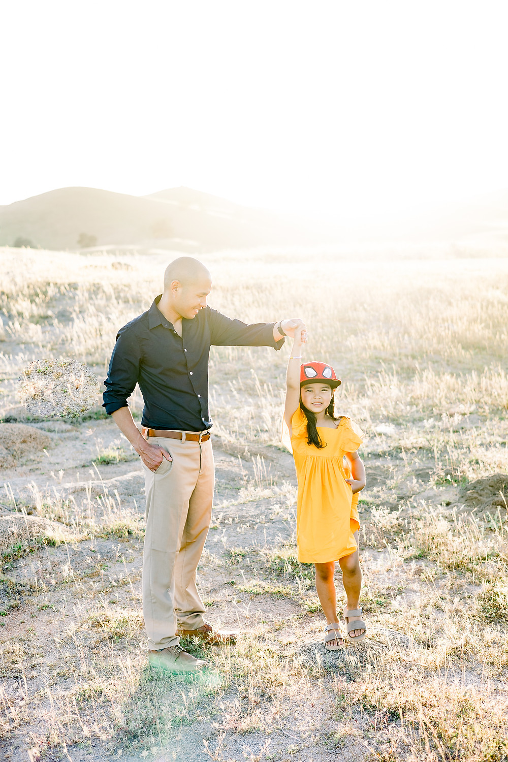 Family photo session in Fresno, CA by Ashley Norton Photography.