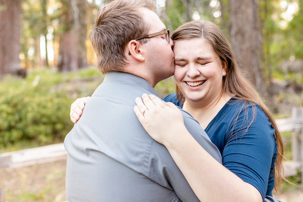 A couple's engagement session in Kings Canyon National Park by Ashley Norton Photography.