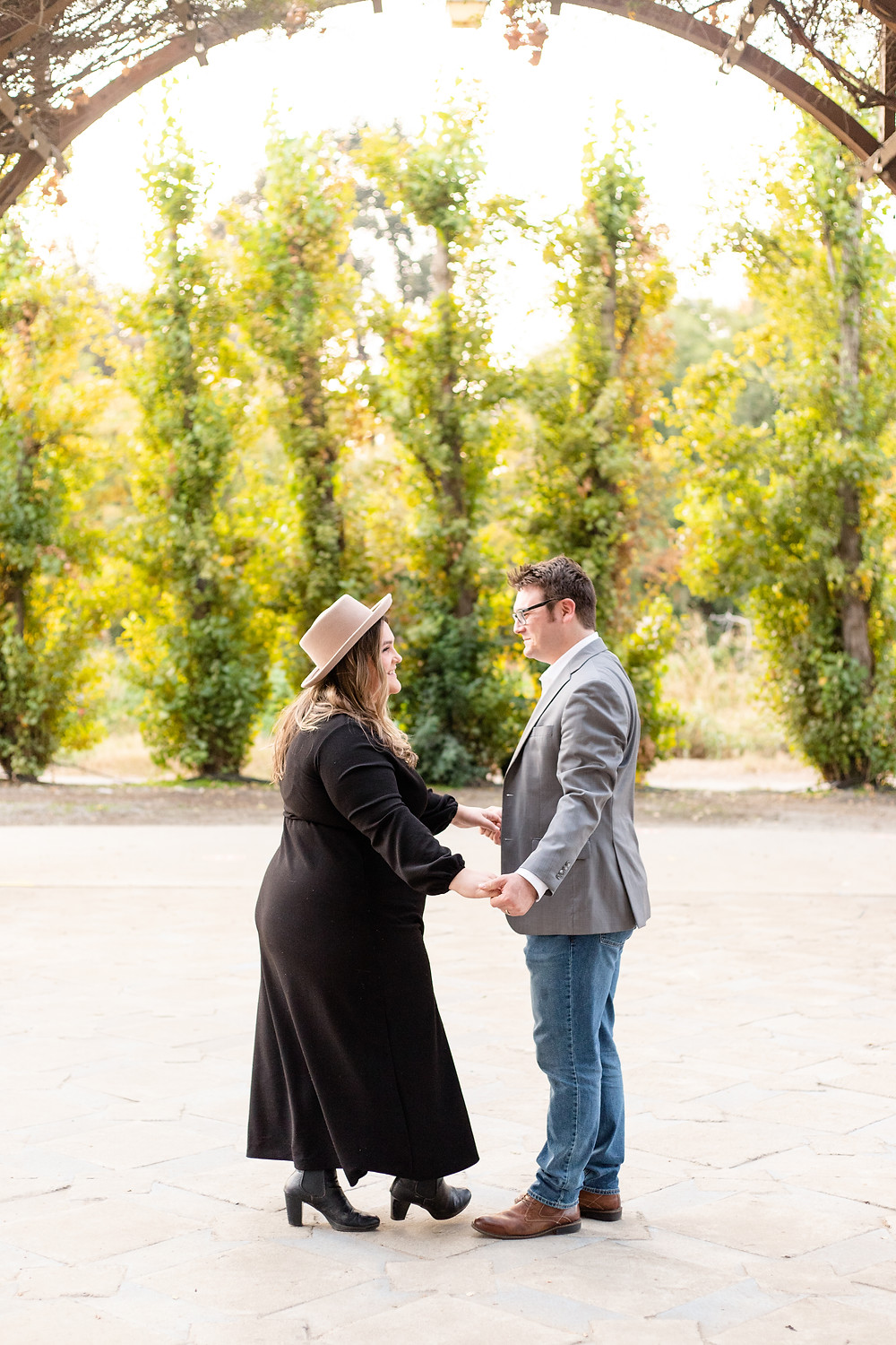 A couples anniversary session by Ashley Norton Photography in Clovis, CA.