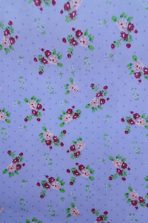 Floral Polka Dot Polycotton