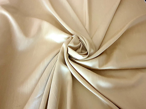 Shantung Silk - CHAMPAGNE