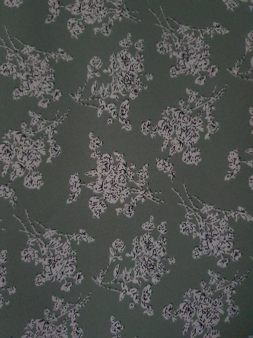Floral Cluster Polyester