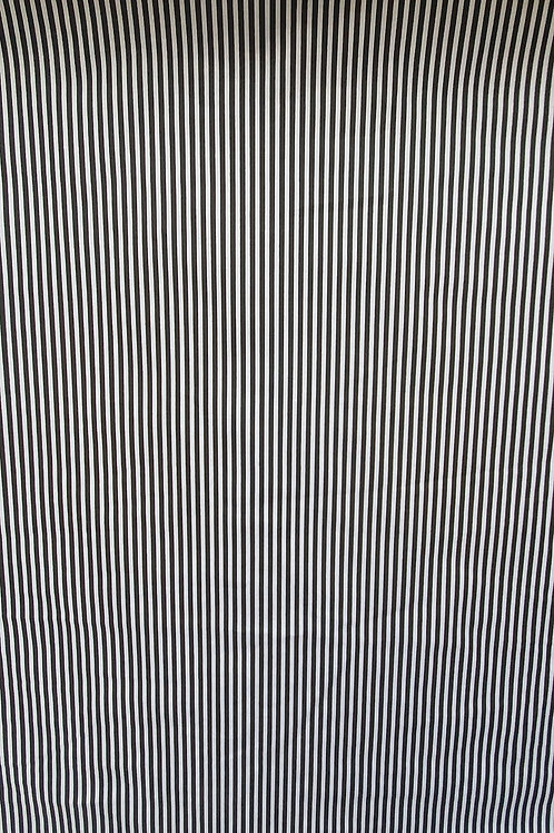 Striped Polycotton