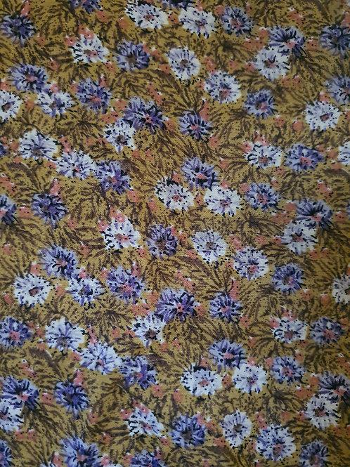 Intense Floral Viscose Polyester