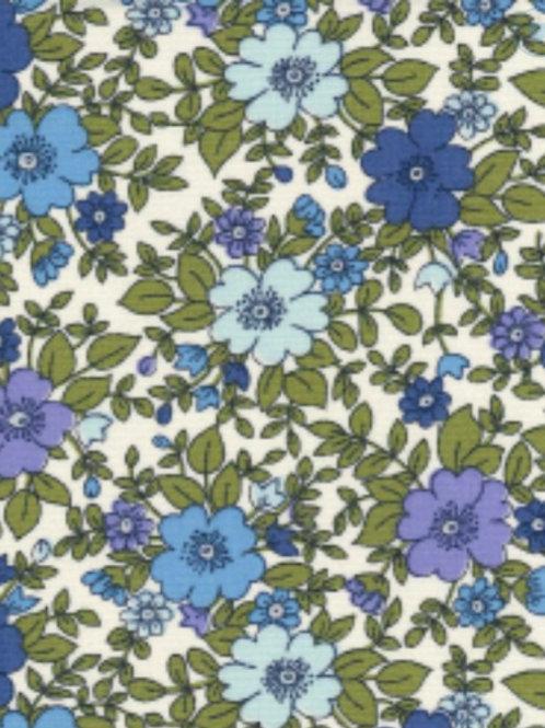 Floral Leaf 100% Cotton Rose & Hubble - NEW