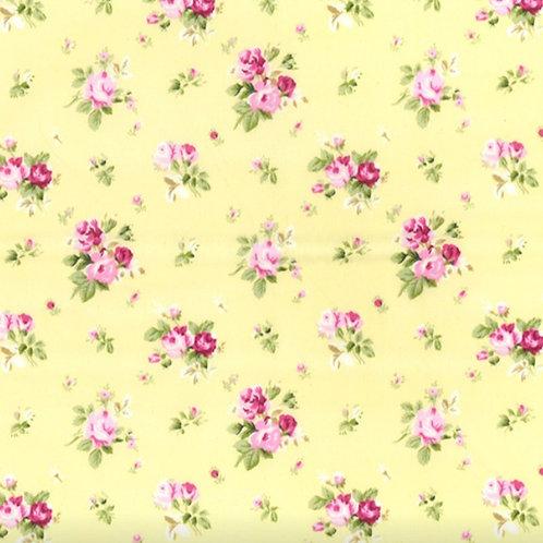Vintage Floral 100% Cotton Rose & Hubble - NEW