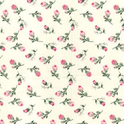 Mini Floral 100% Cotton Rose & Hubble - NEW