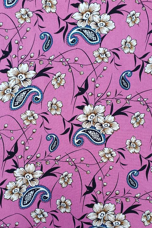 Paisley Vine Floral Viscose