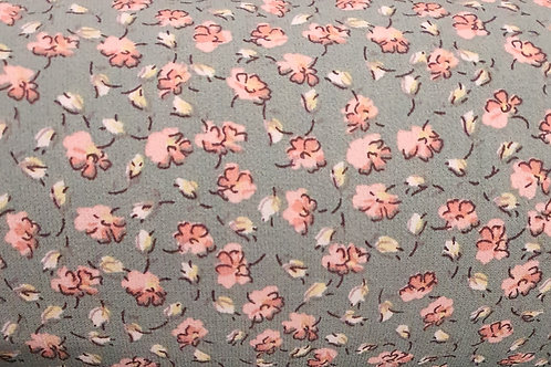 Small Floral Print Crepe