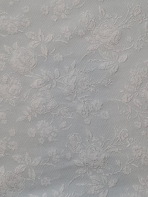 Floral Embossed Pastel Jacquard