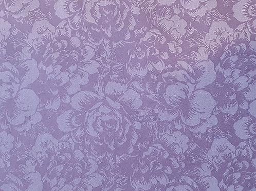 Soft Rose Two Tone Printed Satin Silk