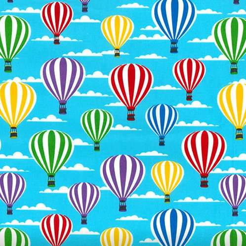 Hot Air Balloon 100% Cotton Rose & Hubble - NEW