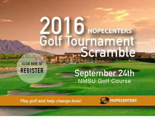 2016 Hope Centers Golf Tournament