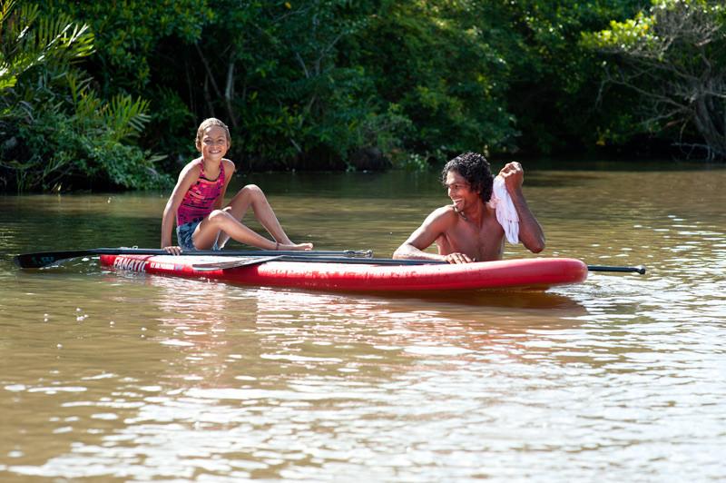 Sup River Paddle
