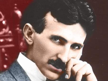 """Nikolas Tesla et la géométrie """"subtile""""."""