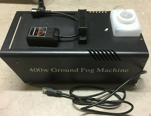 Ground Fog Machine with Remote (1 Left)