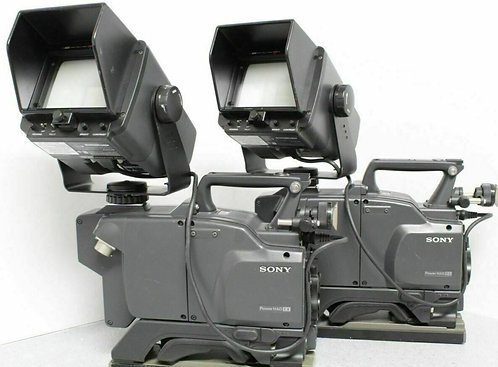 Sony DXC-50WS Camera & Monitor (PAIR), CCU & Cables