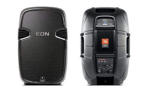 JBL EON515XT (PAIR) Active Speakers w/ JBL Bags