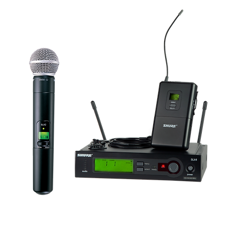Shure SLX Wireless Combo Kit