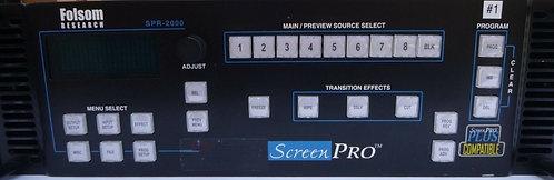 Folsom Screen Pro 2000