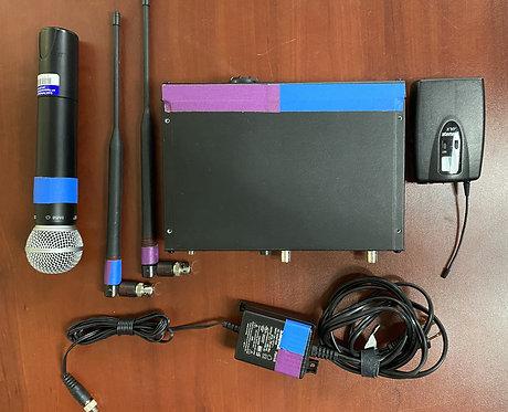 Shure ULXP Wireless Combo Mic Kit J1 (554-590)