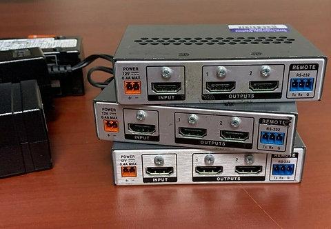 (3x) Extron 1X2 HDMI DA
