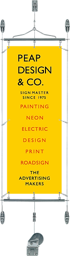 Wall-Mounting Banner System