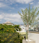 Lycabettus View from the Hotel
