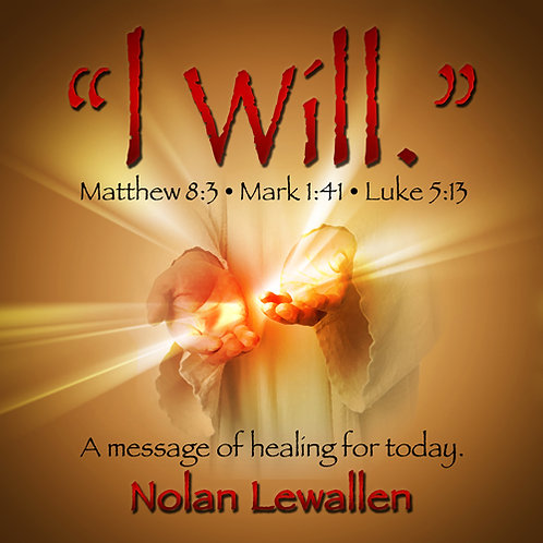 I WILL - A Message Of Healing For Today   (2 CDs)