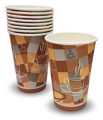 כוסות נייר לשתיה חמה גודל '10 50 יחידות