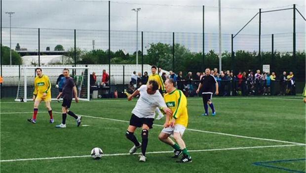 Walking Football team enter first tournament