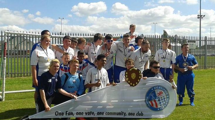 Champions retain their title