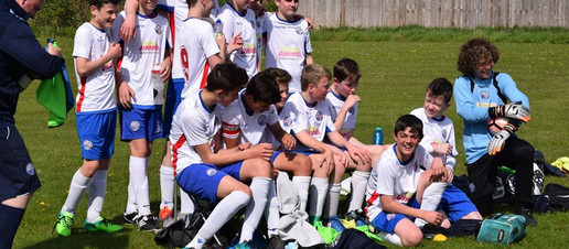 Under 14 Whites wrap up the League with a game to spare