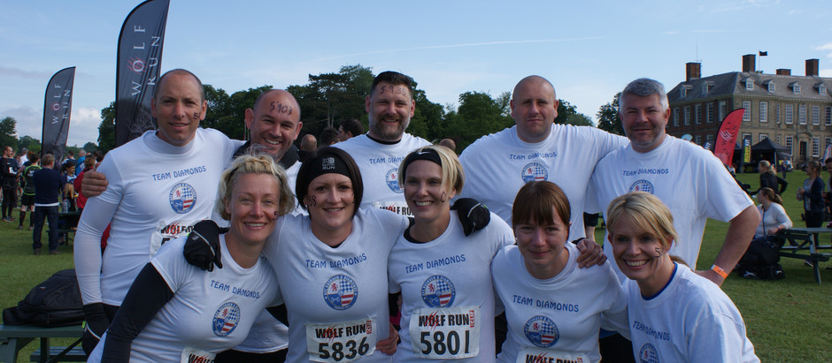 AFC Rushden & Dia'muds' complete the Wolf Run