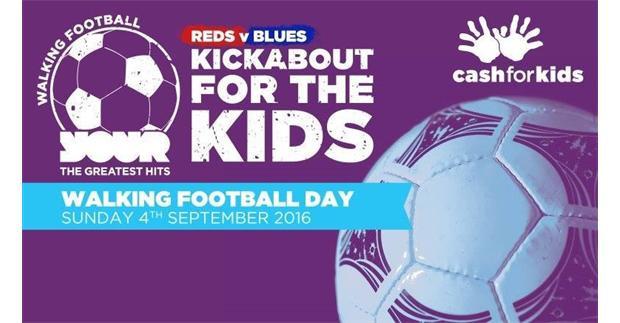 Walking Football raising cash for kids