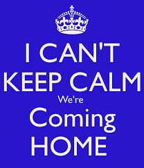 We're coming home