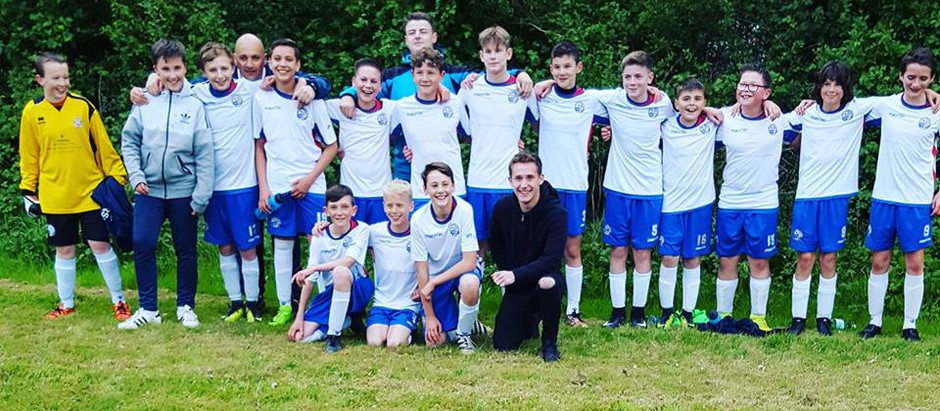 Under 13's make it two league championships for the club in the 16/17 season