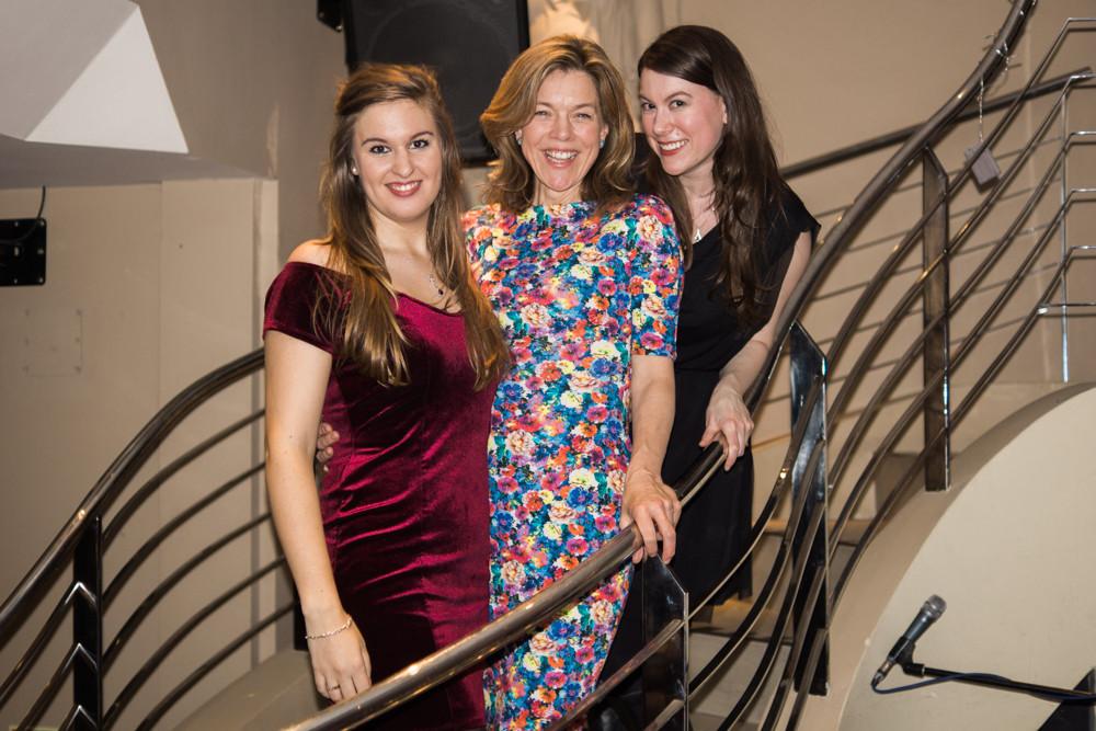 Bella Barlow, Janie Dee & Alli Smith