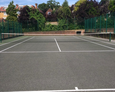 Tennis courts now open