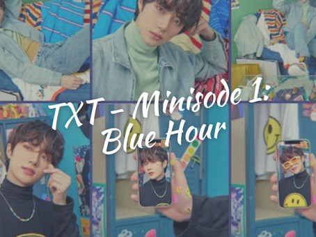 """TXT's leading single is taking fans to the """"Blue Hour"""""""