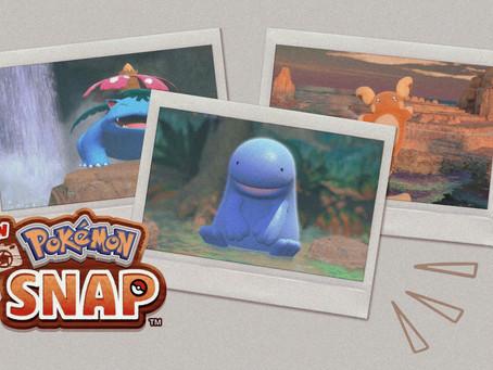 New Pokémon Snap takes a shot at a nostalgic franchise