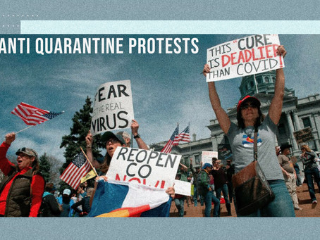 Anti-Quarantine protests: Fueling the flame of American democracy